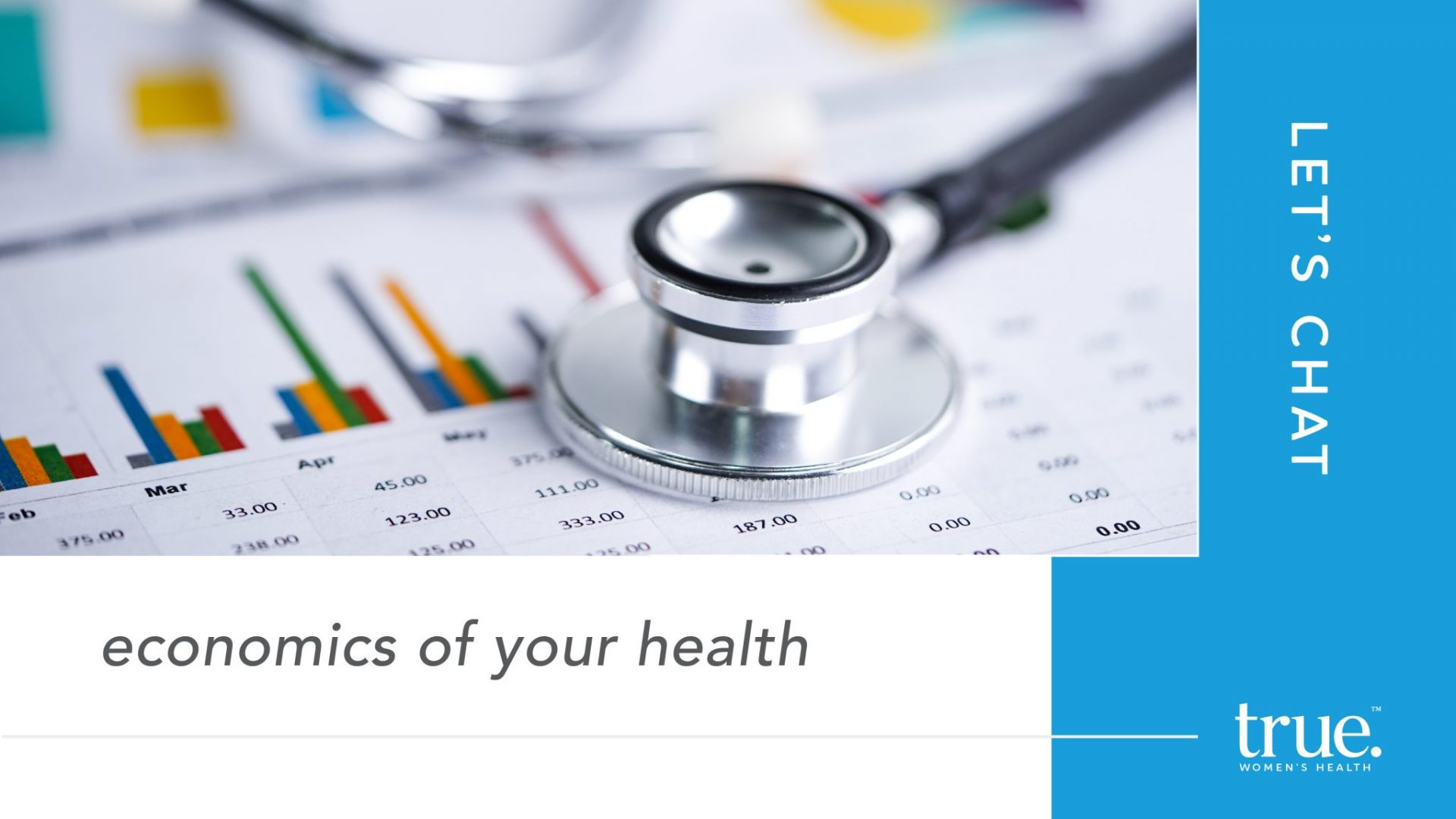 Lets chat about the economics of your health