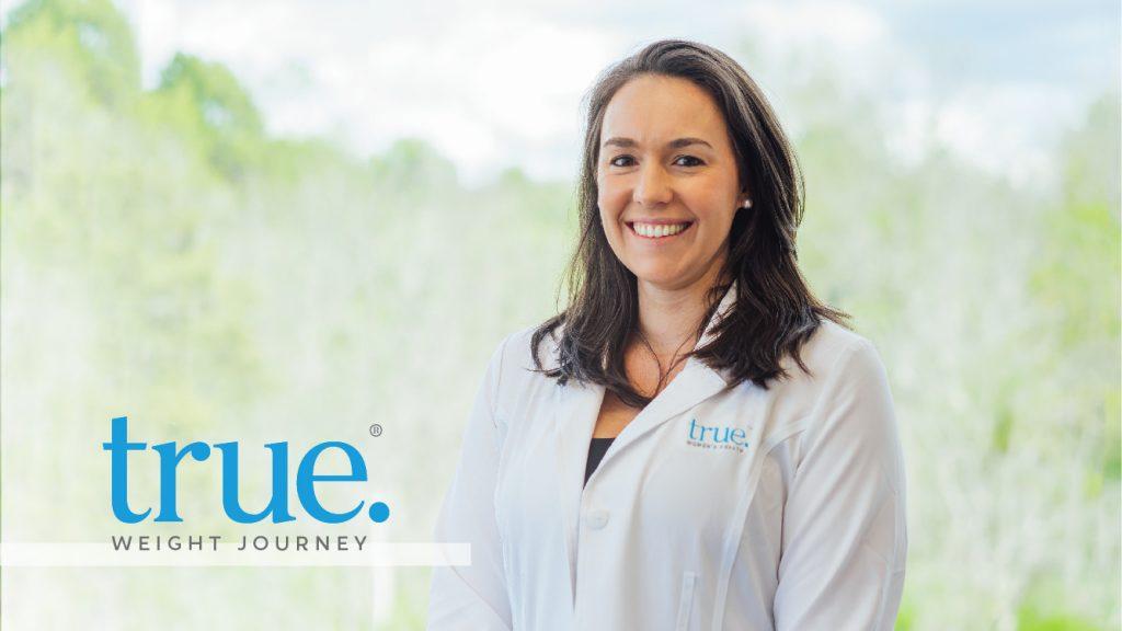 Dr. Celia Egan and true. Weight Journey